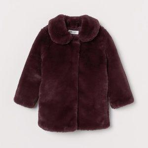 Faux-Fur Girls Jacket